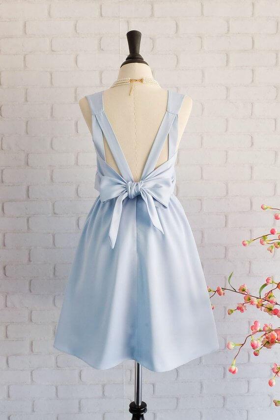 Brautjungfernkleid Pastell