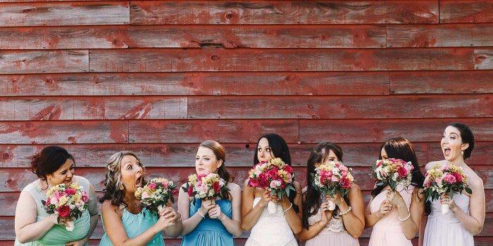 Brautjungfernkleider Pastell