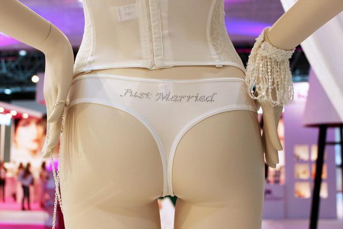 Just Married Unterhose von Poirier
