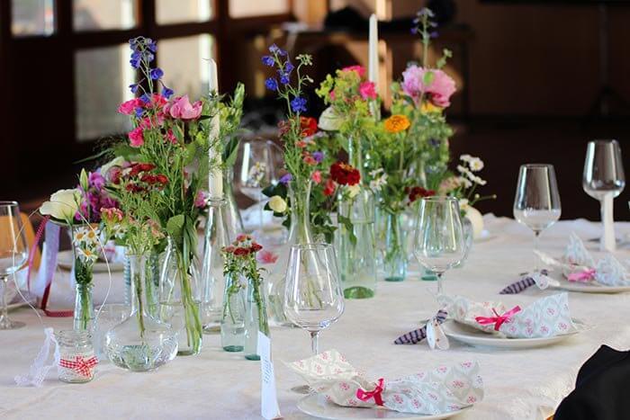 Servietten für die Hochzeit