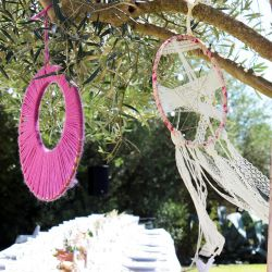 Traumfänger basteln Hochzeit
