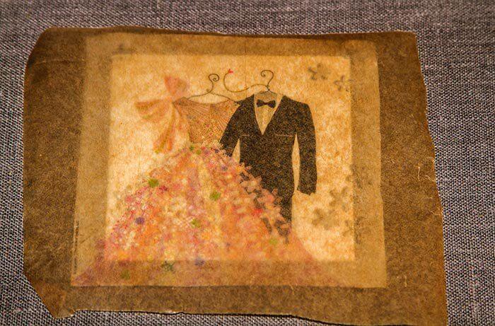 Servietten Hochzeit basteln