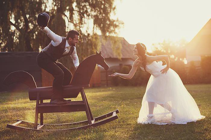 Requisiten Fotos Hochzeit
