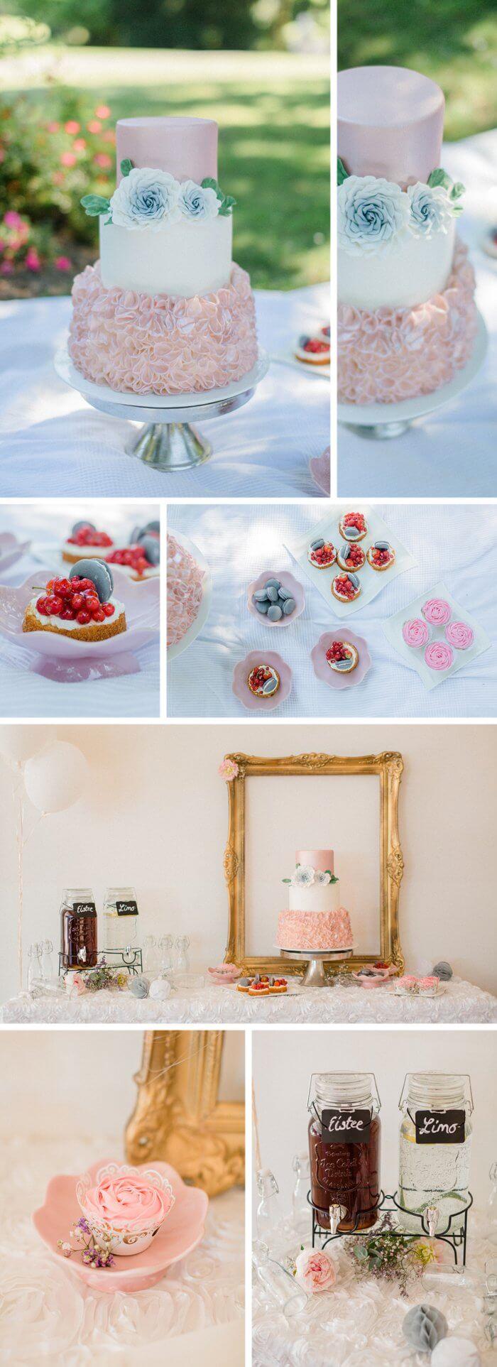Hochzeit im Mai Torte