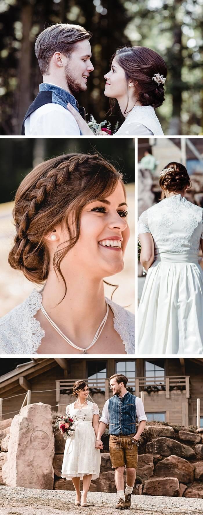 Hütte Hochzeit