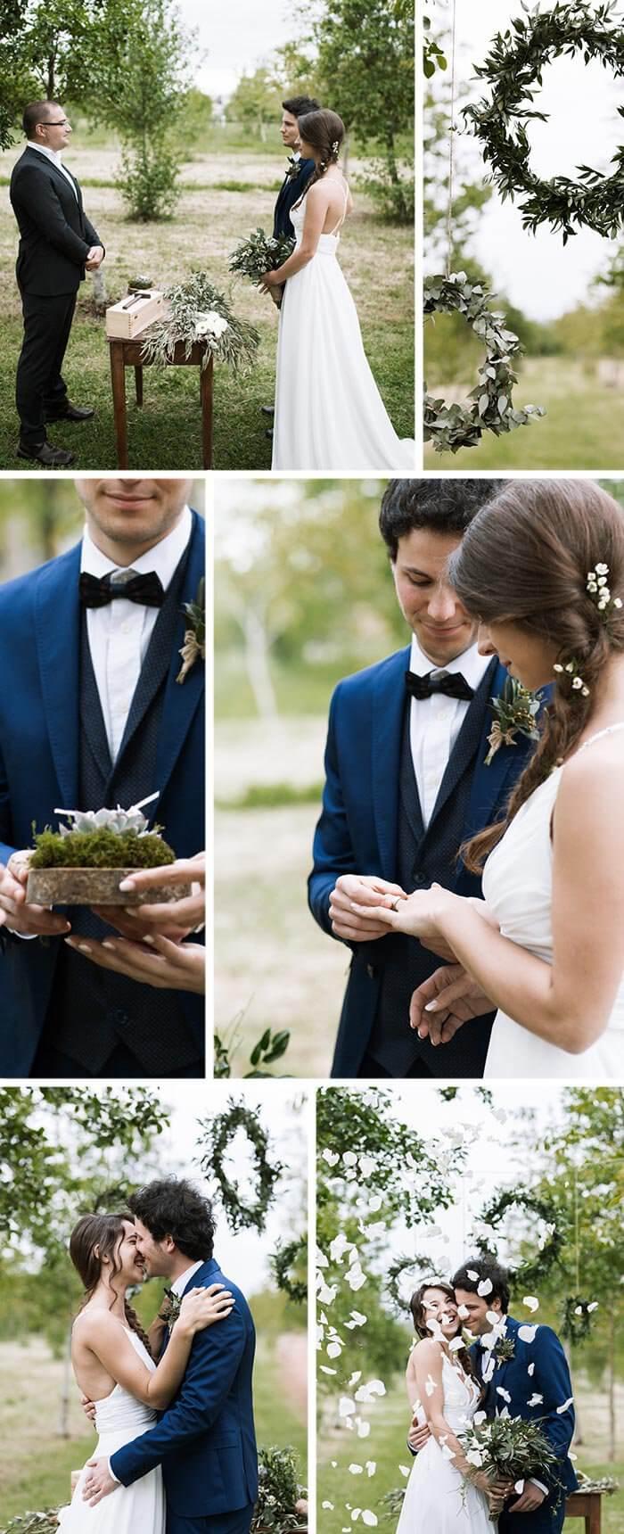 Hochzeit Sukkulenten