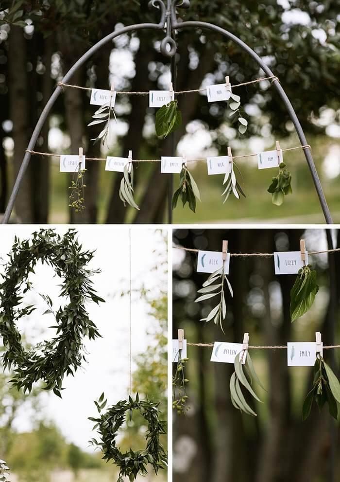 Hochzeitsdeko Sukkulenten
