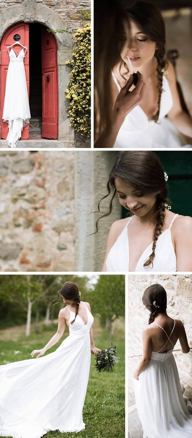 Sukkulenten Hochzeit Braut