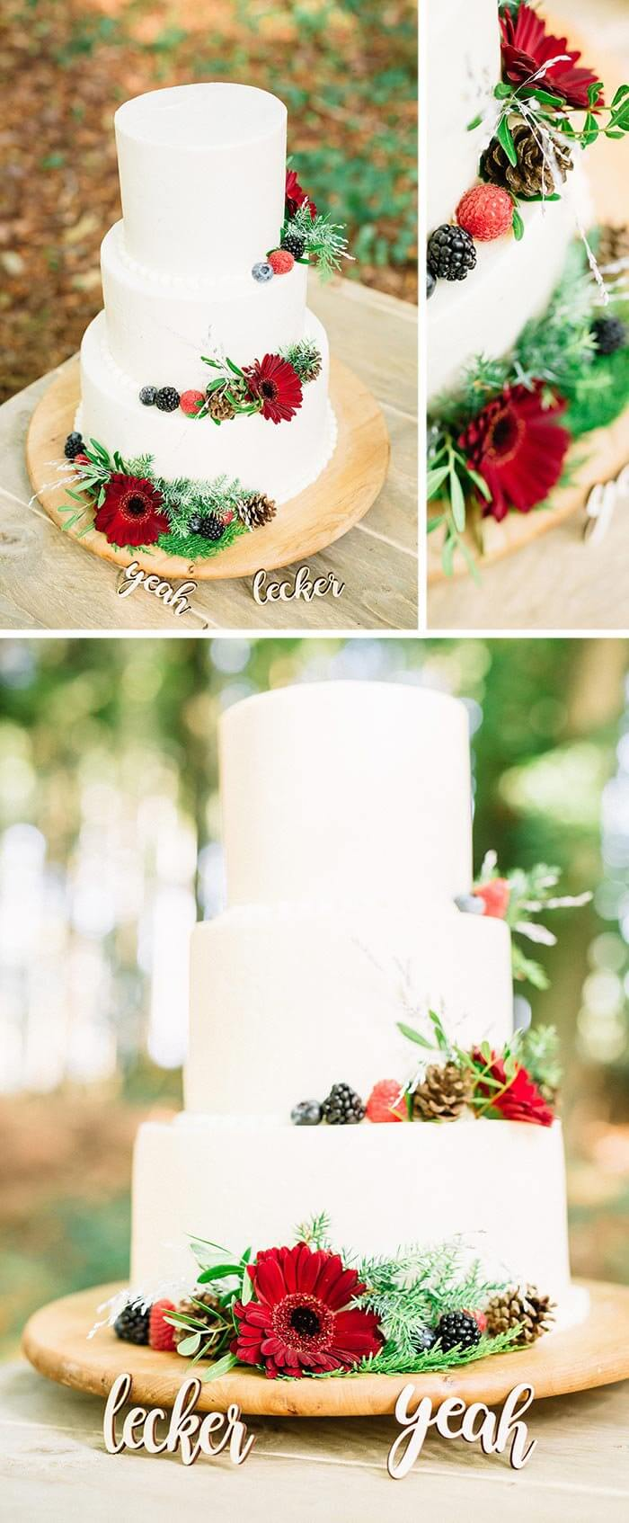Hochzeitstorte Natur