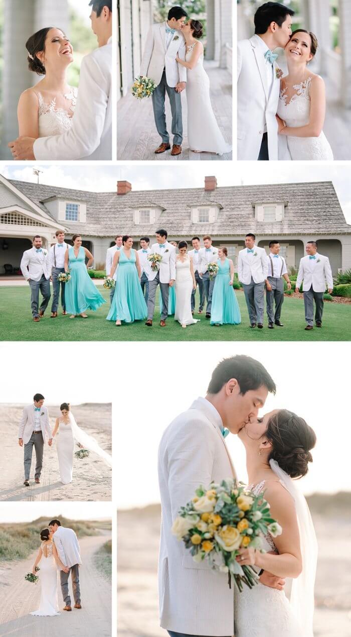 Kleid Türkis Hochzeit