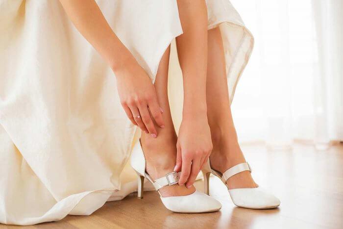 Tanzschuhe bequeme Brautschuhe