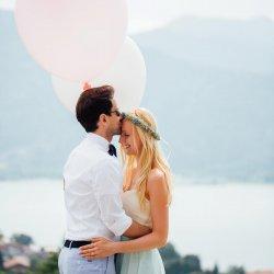 Hochzeitsbilder Luftballons