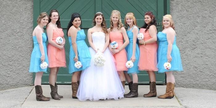 Western Hochzeit Kleidung