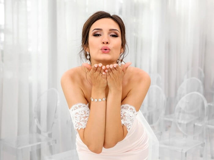 Hochzeitskleid nach Hochzeit