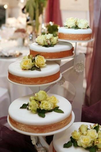 Hochzeitstorte 5 Stufen Hochzeitstortenständer
