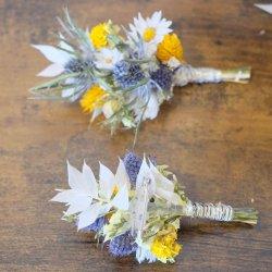 Anstecker Bräutigam und Trauzeuge