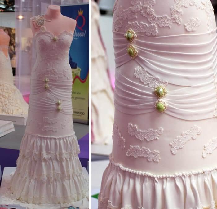 Brautkleid Torten