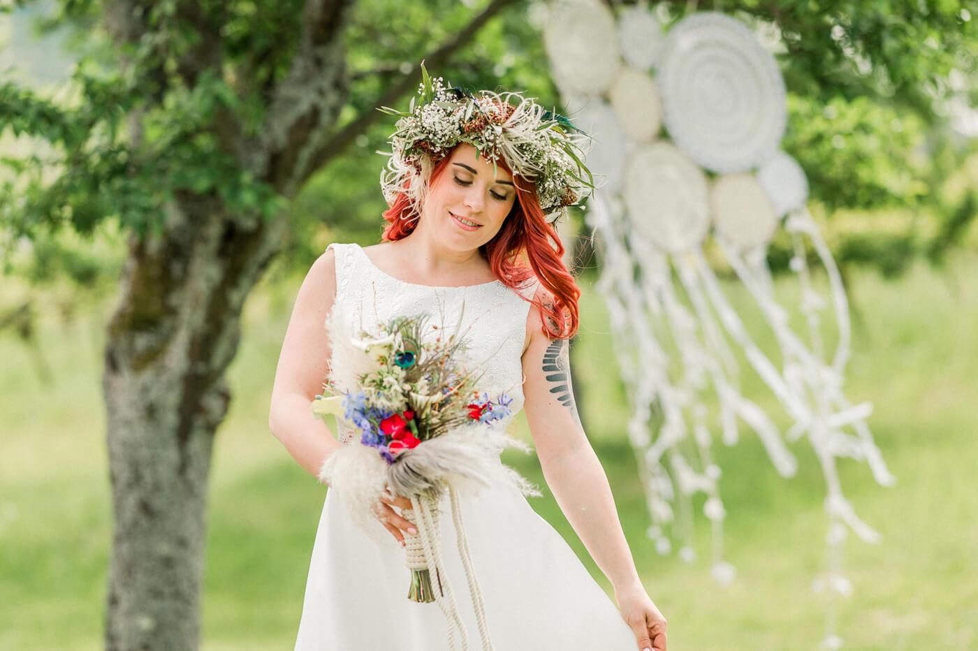 Bohemian Stil Hochzeit