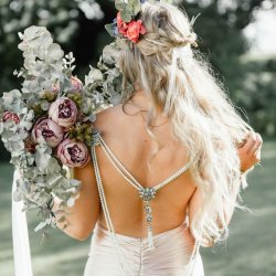 Rückenkette Braut