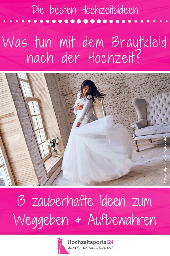 Was machen mit Brautkleid