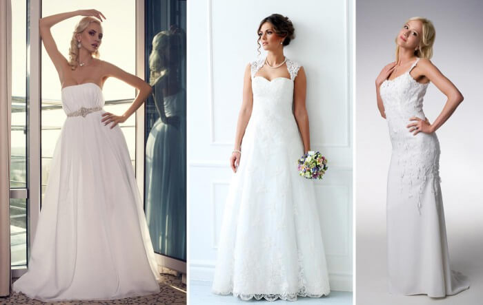 Brautkleid fürs Standesamt in lang