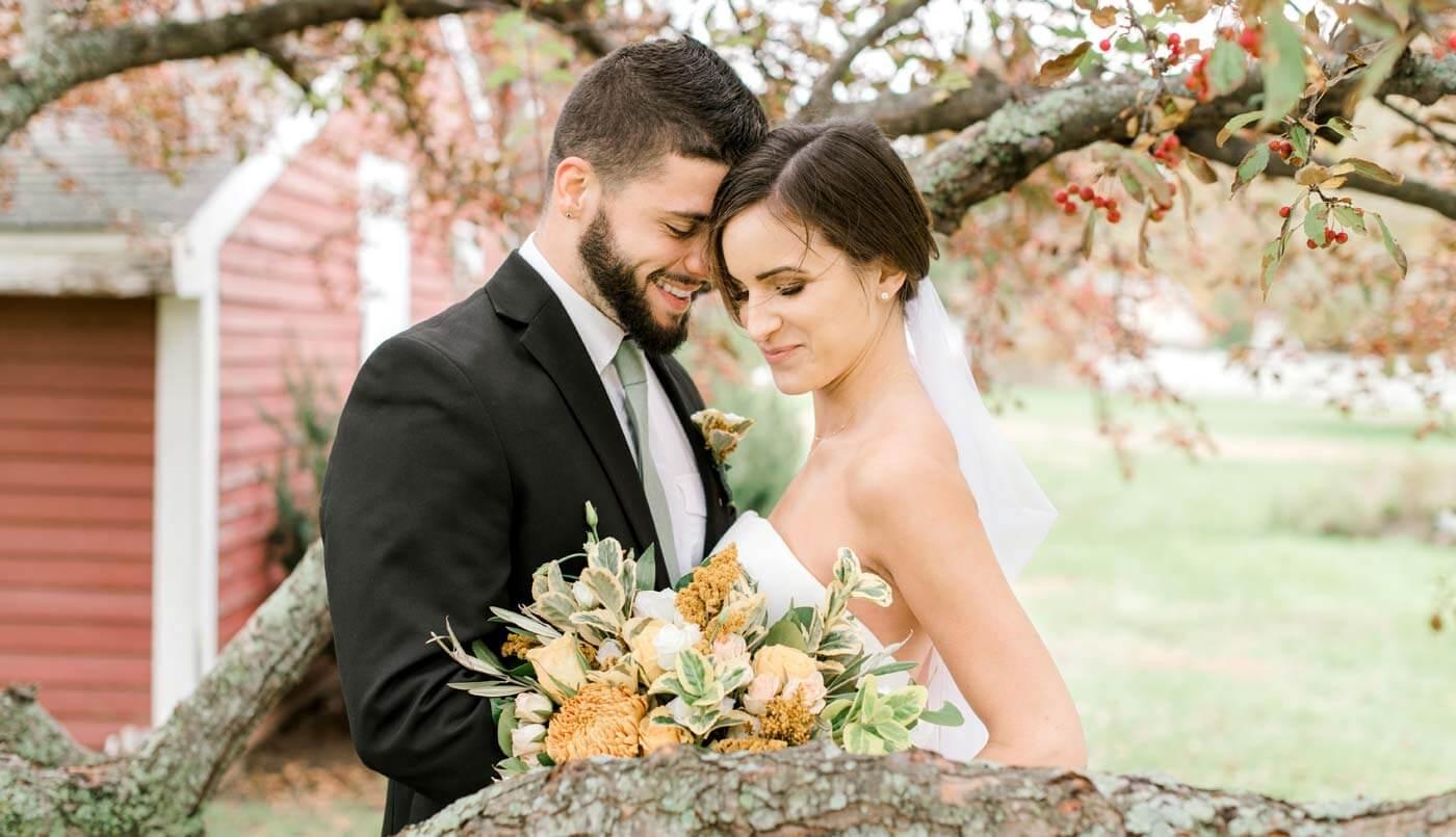 Brautstrauß im Herbst