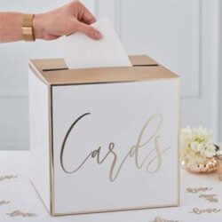 Hochzeit Kartenbox