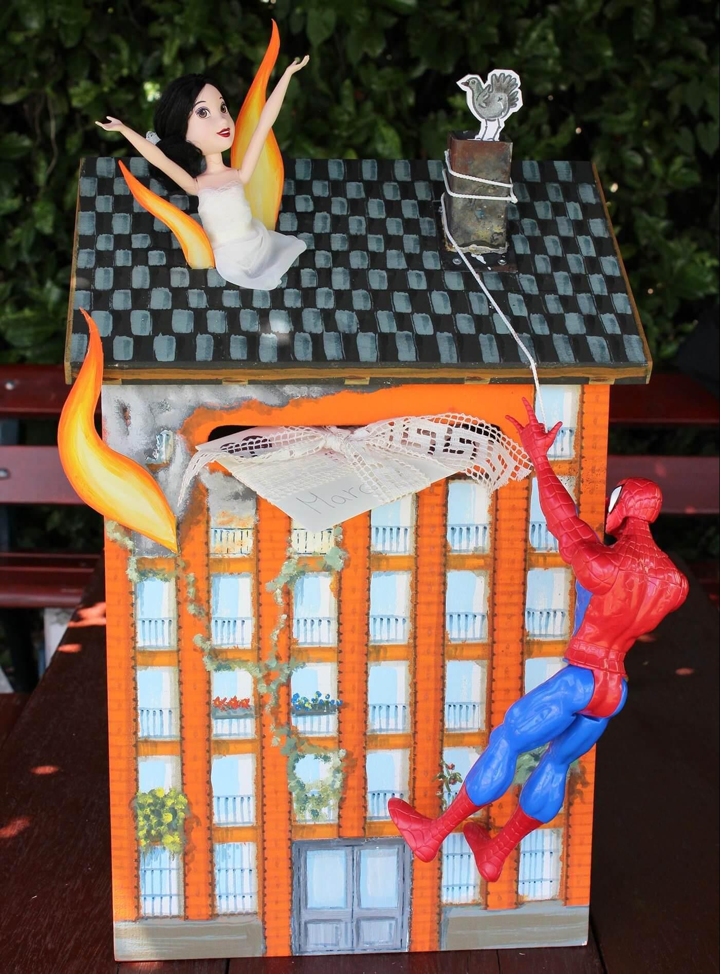 Superhelden Briefbox