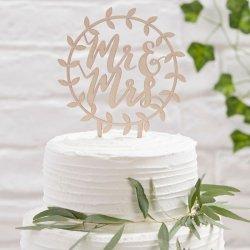 Cake-Topper Holz