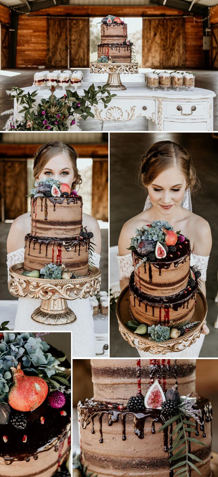 Hochzeit Drip Cake