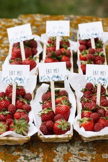 Fingerfood Hochzeit Sommer
