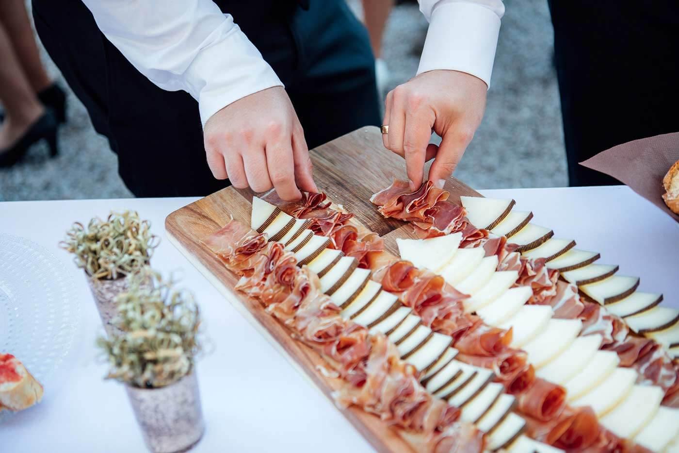 Fingerfood Hochzeit vorbereiten
