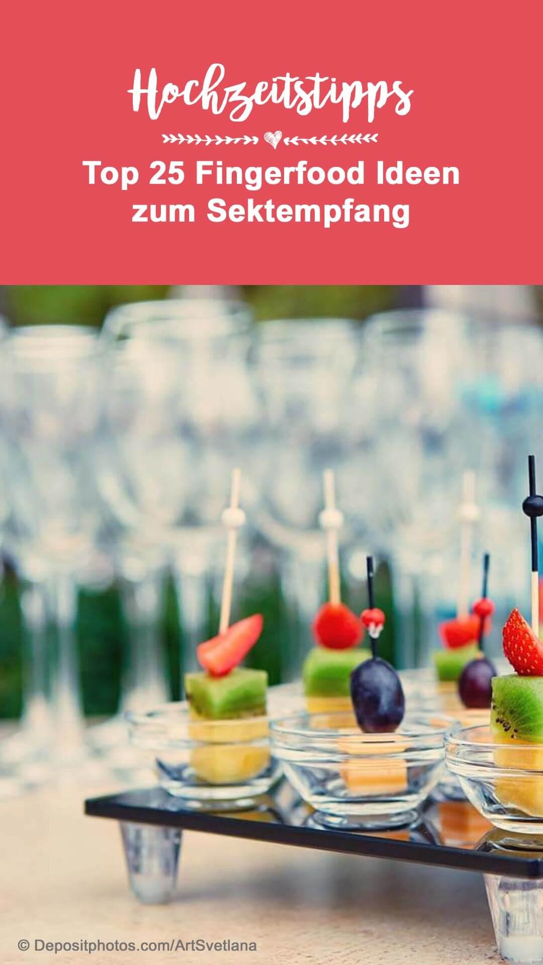 Fingerfood Ideen Hochzeit