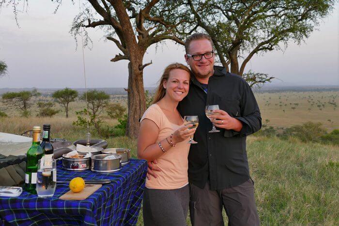Flitterwochen Afrika