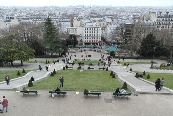 Flitterwochen Paris