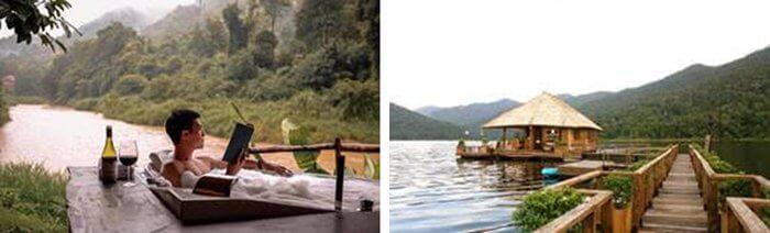 Thailand Flitterwochen Wasserbungalow