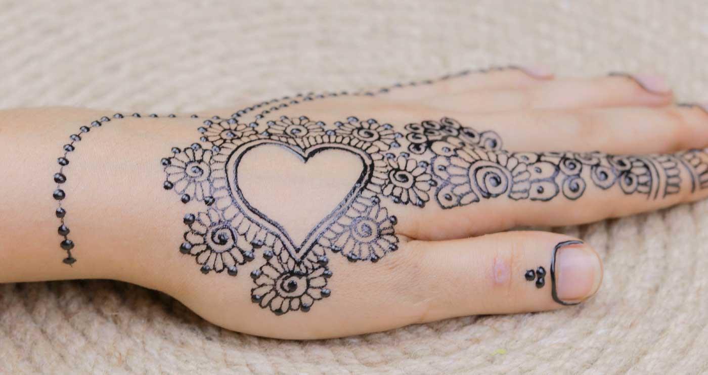 Henna Tattoo Hochzeit