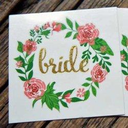 Temporäre Tattoos Hochzeit