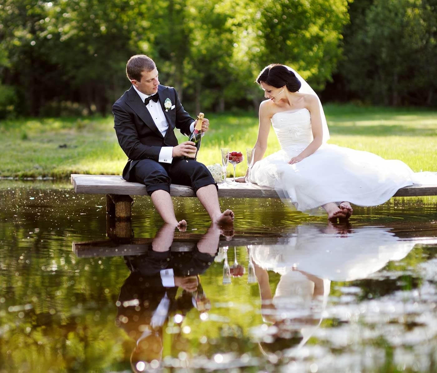 Heiraten ohne Gäste