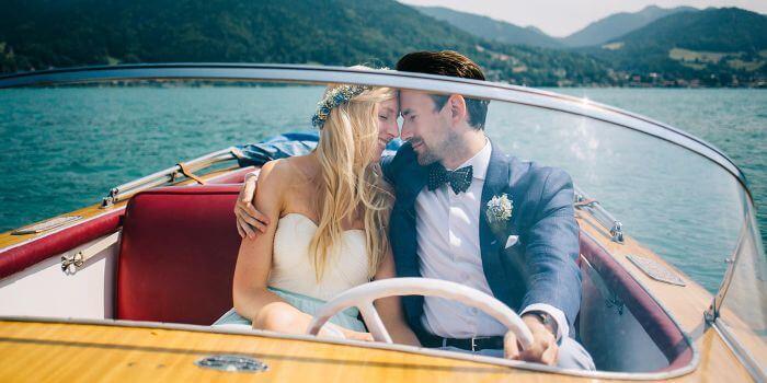 Heiraten zu Zweit am See