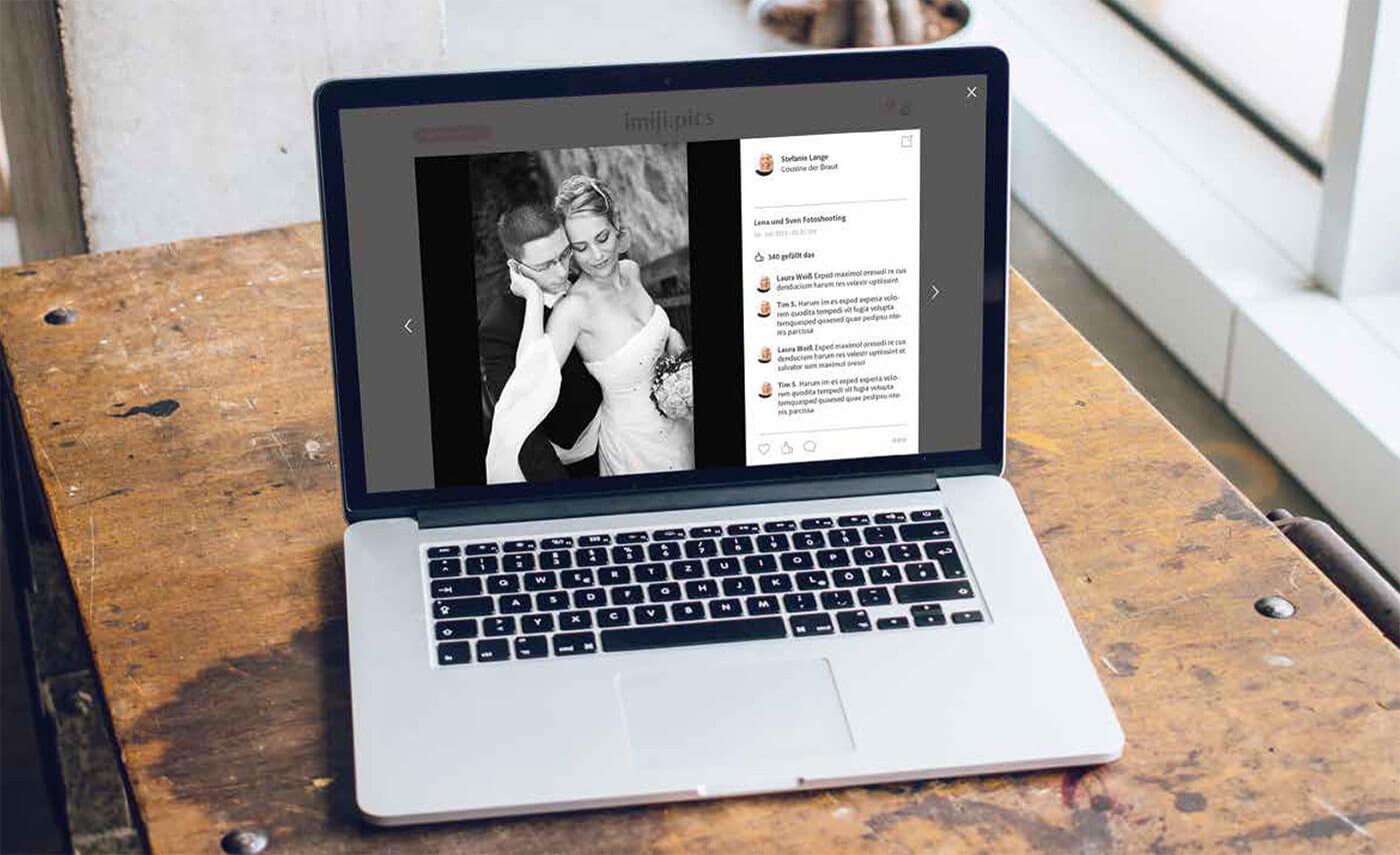Hochzeitsbilder online