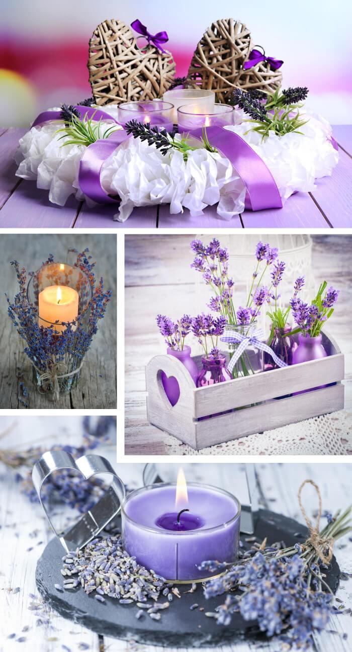 Lavendel Deko
