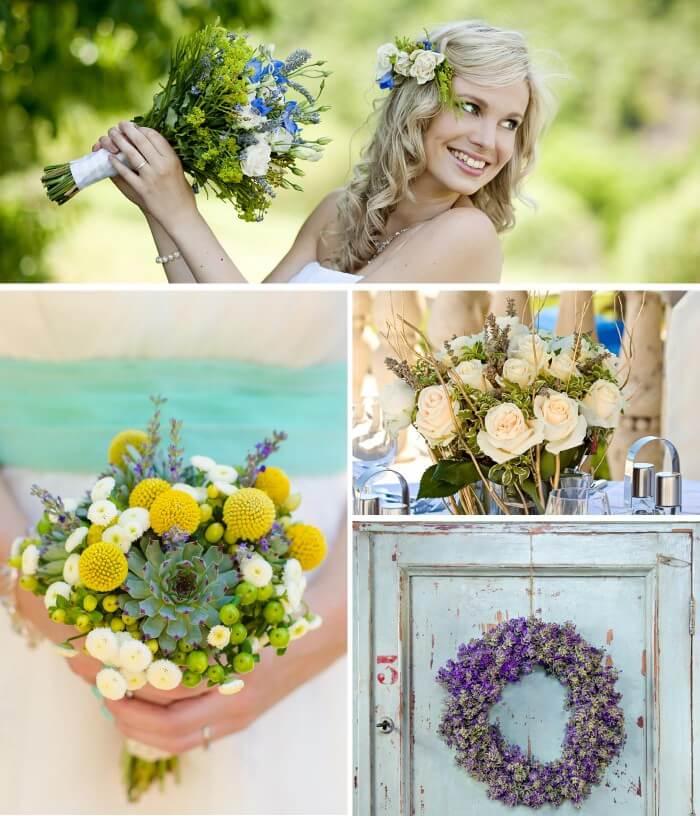 Lavendel Deko Blumen