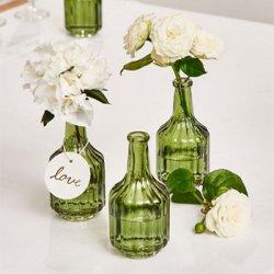 Hochzeit Vase grün