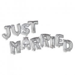 Just married Ballons
