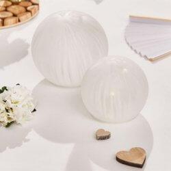 Tischdeko Weiß Hochzeit