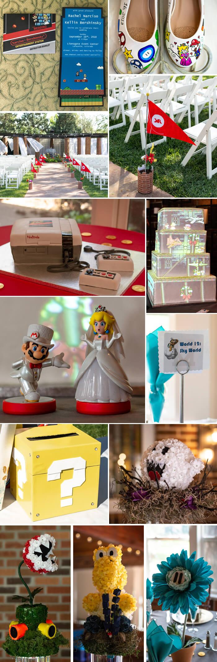Super Mario Hochzeit