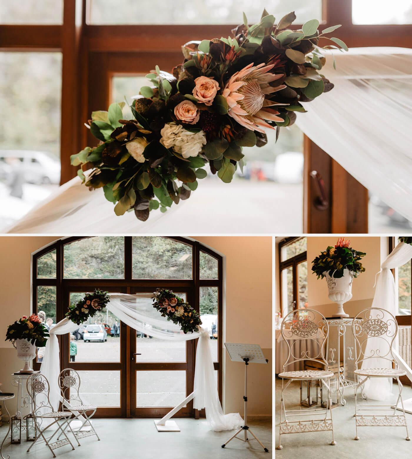 Saal mieten Hochzeit