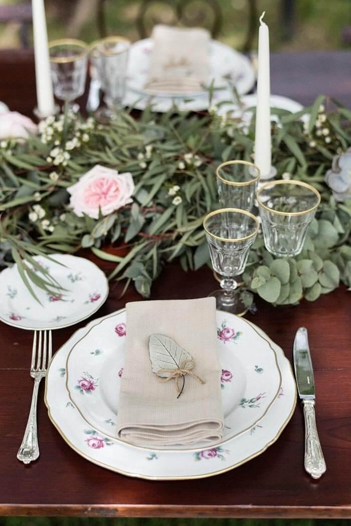 Serviette Hochzeit