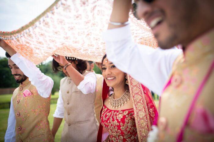 Indische Braut Hochzeit